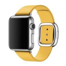 Силиконовый ремешок Sport Band 42мм 44мм для Apple Watch Желтый
