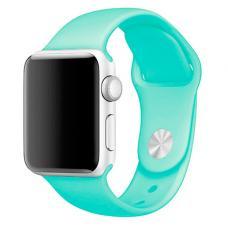 Силиконовый ремешок Sport Band 42мм 44мм для Apple Watch Зелёный