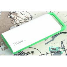 Внешний универсальный аккумулятор Mah A38 13000 mAh Белый с зеленым