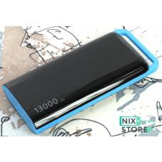 Внешний универсальный аккумулятор Mah A38 13000 mAh Черный с синим