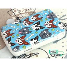Внешний аккумулятор универсальный Remax Coozy series 10000 mAh Собаки