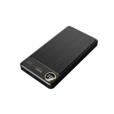 Внешний универсальный аккумулятор Remax RPP-59 20000 mAh Черного цвета
