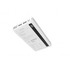 Внешний универсальный аккумулятор Remax RPP-73 Linon 20000 mAh Белого цвета