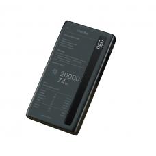 Внешний универсальный аккумулятор Remax RPP-73 Linon 20000 mAh Черного цвета