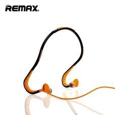 Спортивные наушники Bluetooth Remax Earphone RM-S15 Черный с оранжевым