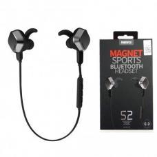 Спортивные наушники Bluetooth Remax Earphone RM-S2 Черные