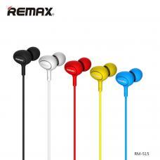 Наушники капельки Remax rm-515 Черного цвета