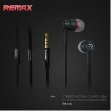 Наушники капельки Remax rm-535i Черные