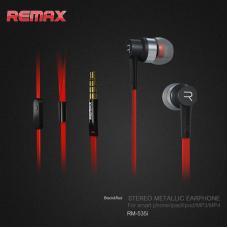 Наушники капельки Remax rm-535i Красные