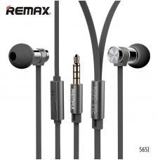 Наушники капельки Remax rm-565i Черного цвета