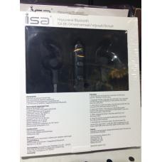 Магнитные Bluetoooth наушники ISA BE-04 Черного цвета