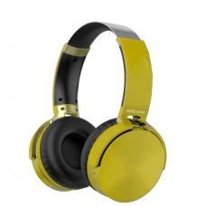 Наушники Bluetooth AZ-06 Желтого цвета