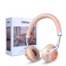 Наушники Bluetooth MoMax H-001 Розового цвета