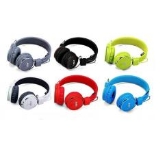 Наушники Bluetooth NIA-1682S MP3 Зеленого цвета