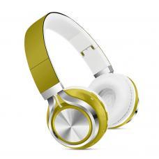 Наушники Bluetooth SK-01 Желтого цвета
