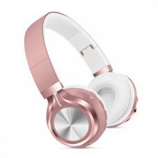 Наушники Bluetooth SK-01 цвета Розовое золото