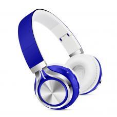 Наушники Bluetooth SK-01 Синего цвета