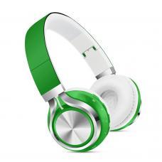 Наушники Bluetooth SK-01 Зеленого цвета
