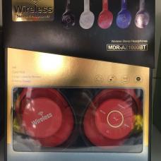 Наушники Bluetooth XB-1000 Красного цвета