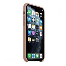 Силиконовый чехол Silicon Case для iPhone 11 Pro Max Бежевого цвета