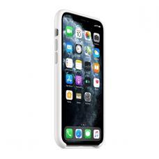 Силиконовый чехол Silicon Case для iPhone 11 Pro Белого цвета
