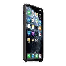 Силиконовый чехол Silicon Case для iPhone 11 Pro Max Черного цвета