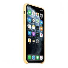 Силиконовый чехол Silicon Case для iPhone 11 Pro Желтого цвета