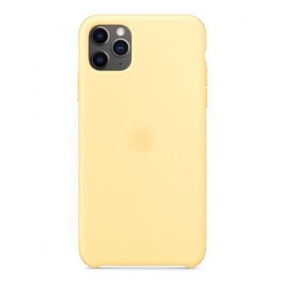 Силиконовый чехол Apple Silicon Case для iPhone 11 Pro Max Желтый