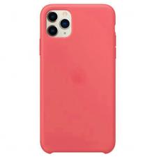 Силиконовый чехол Silicon Case для iPhone 11 Pro Max Кораллового цвета