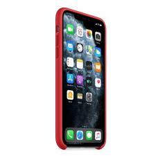 Силиконовый чехол Silicon Case для iPhone 11 Pro Max Красного цвета