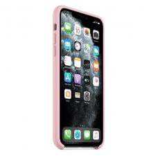 Силиконовый чехол Silicon Case для iPhone 11 Pro Max Пудрового цвета
