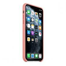Силиконовый чехол Silicon Case для iPhone 11 Pro Max Розового цвета
