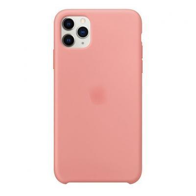 Силиконовый чехол Apple Silicon Case для iPhone 11 Pro Max Розовый