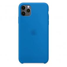 Силиконовый чехол Silicon Case для iPhone 11 Pro Синего цвета
