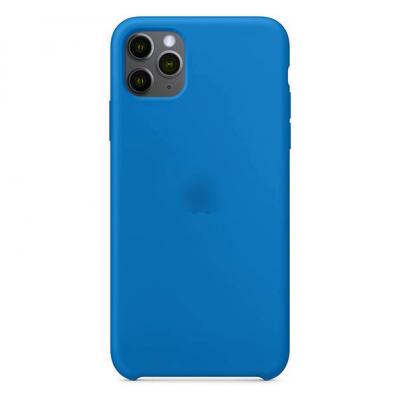 Силиконовый чехол Apple Silicon Case для iPhone 11 Синий