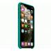 Силиконовый чехол Apple Silicon Case для iPhone 11 Зелёный