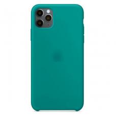 Силиконовый чехол Silicon Case для iPhone 11 Pro Max Зелёного цвета