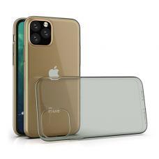 Черно-прозрачный противоударный силиконовый чехол Infinity для iPhone 11