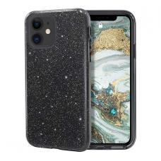 Силиконовый чехол Sparkle Case для iPhone 11 Pro Черного цвета