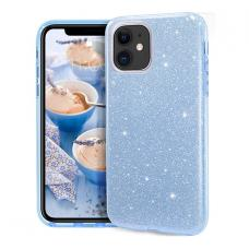 Силиконовый чехол Sparkle Case для iPhone 11 Pro Голубого цвета