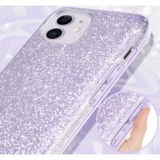 Силиконовый чехол Sparkle Case для iPhone 11 Pro Max Сиреневого цвета