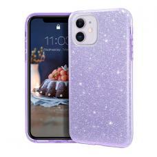 Силиконовый чехол Sparkle Case для iPhone 11 Pro Сиреневого цвета