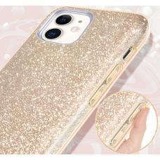Силиконовый чехол Sparkle Case для iPhone 11 Pro Золотого цвета