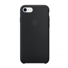 Силиконовый чехол Apple Silicon Case на iPhone 5, 5s, SE черный