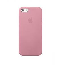 Силиконовый чехол Apple Silicon Case на iPhone 5, 5s, SE розовый