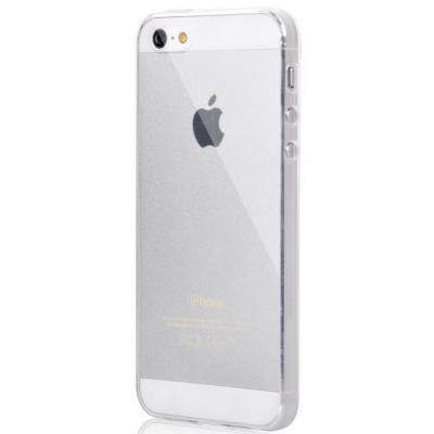 Ультратонкий прозрачный силиконовый чехол Infinity Slim для Iphone 5, 5s, SE