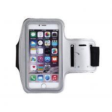 Чехол на руку, спортивный Oubala до 4 дюймов, Серый, на iPhone 5, 5s, SE