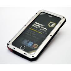 Бронированный чехол Lunatik Taktik Extreme для iPhone 6, 6s Серебристый