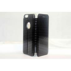 Книжка чехол Totu Lattice для iPhone 6, 6s Черного цвета