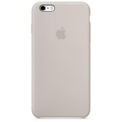 Силиконовый чехол Apple Silicon Case на iPhone 6, 6s бежевого цвета